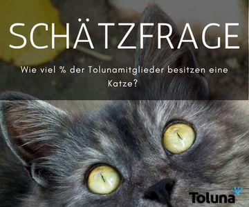 Wie viel % der Tolunamitglieder besitzen eine Katze- BOLD